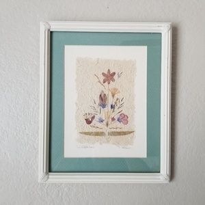 """Wild Flowers"" Wall Decor"